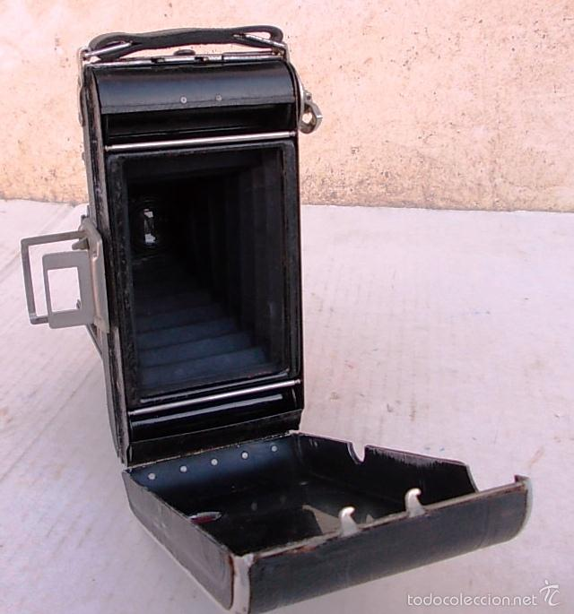 Cámara de fotos: camara fuelle antigua WELTA PERLE – 6X9 ROLLFILMKAMERA MIT WELTAR 6,3/105MM 1932-36 , cam365, c22 - Foto 4 - 55915868
