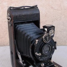 Fotocamere: CAMARA FUELLE ANTIGUA VOIGTLÄNDER 6X9 ROLLFILM- BRAUNOCHNEIG VOIGTAR 6,3/105MM 1927 ,, CAM365 ,C25. Lote 55915958