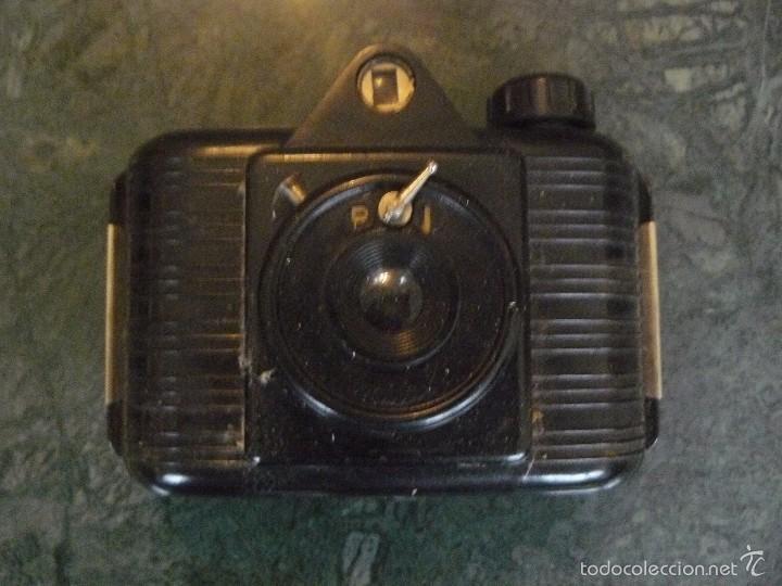 Cámara de fotos: Máquina fotográfica Univex, formato 4,5 x 6 cm, para colección o decoración, en baquelita negra - Foto 3 - 56272956