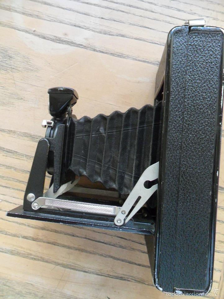Cámara de fotos: Camara Agfa de fuelle Billy JGestar 8,8 con funda de cuero - Foto 3 - 57274076