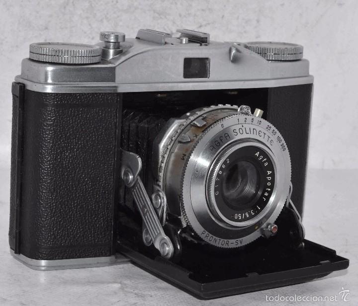 Gran camara antigua fuelle y carrete 35mm agf comprar - Camaras fotos antiguas ...