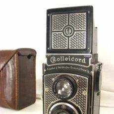 Cámara de fotos - Rolleicord Art Decó de 1933, excepcional estado. - 58281469
