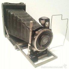 Cámara de fotos: MUY BUSCADA Y PRECIADA CURT BENTZIN PLAN PRIMAR. DRESDEN 1930. LENTES TESSAR DE CARL ZEISS JENA.. Lote 112938076