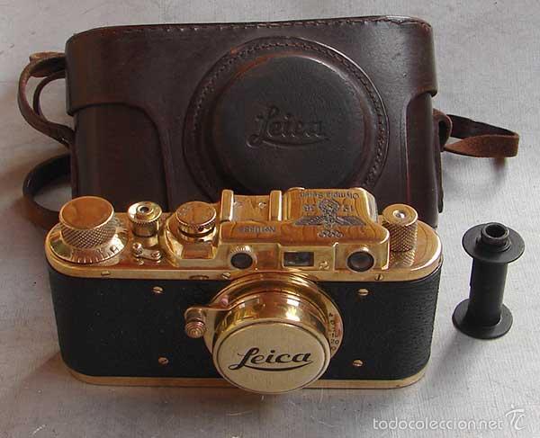 FED-LEICA II D GOLD - OLYMPICS BERLIN 1936 (Cámaras Fotográficas - Antiguas (hasta 1950))
