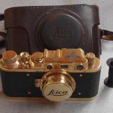 Cámara de fotos: FED-LEICA II D GOLD - OLYMPICS BERLIN 1936. Lote 161493540