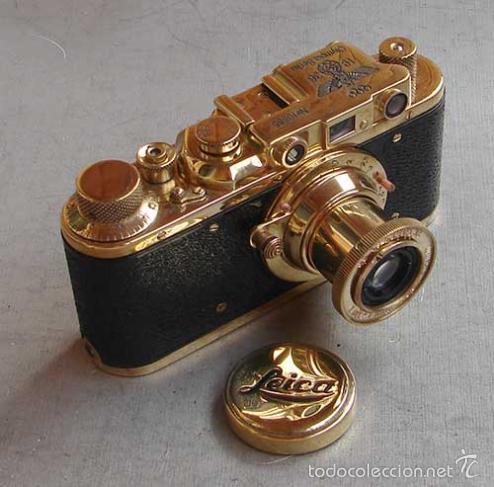 Cámara de fotos: FED-Leica II D GOLD - OLYMPICS BERLIN 1936 - Foto 3 - 161493540
