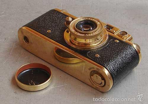 Cámara de fotos: FED-Leica II D GOLD - OLYMPICS BERLIN 1936 - Foto 5 - 161493540