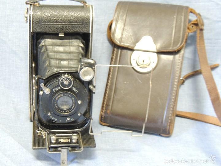 Cámara de fotos: ZEISS IKON DERVAL 6X9 GRAN FORMATO CON ESTUCHE DE PIEL ORIGINAL - Foto 3 - 119194346