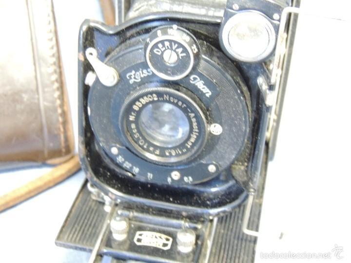 Cámara de fotos: ZEISS IKON DERVAL 6X9 GRAN FORMATO CON ESTUCHE DE PIEL ORIGINAL - Foto 5 - 119194346