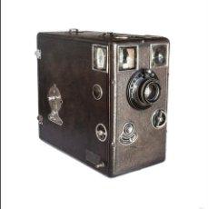 Cámara de fotos: DETECTIVE CAMERA LE RADIEUX. J. GIRARD & CIE, PARIS. DE 1901. PLACAS 9X12. BUEN ESTADO.. Lote 60724143