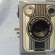 Cámara de fotos: CAMARA OPTOMAX SYNCRONA COLOR GRIS (RARA). Lote 62253952