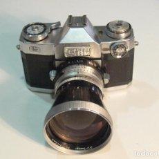 Cámara de fotos: ZEISS IKON REFLEX CON CARL ZEISS PRO TESSAR 115 F/4.PRECIOSA Y RARA.. Lote 62615028
