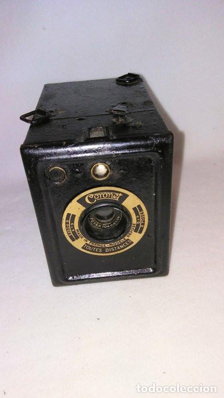 CAMARA DE CAJA. FRANCESA :CORONET (Cámaras Fotográficas - Antiguas (hasta 1950))