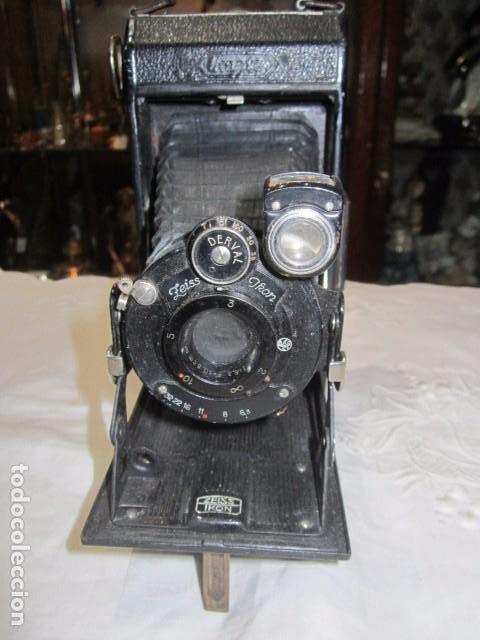 ANTIGUA CÁMARA DE FOTOS ZEISS IKON, DE FUELLE. (Cámaras Fotográficas - Antiguas (hasta 1950))