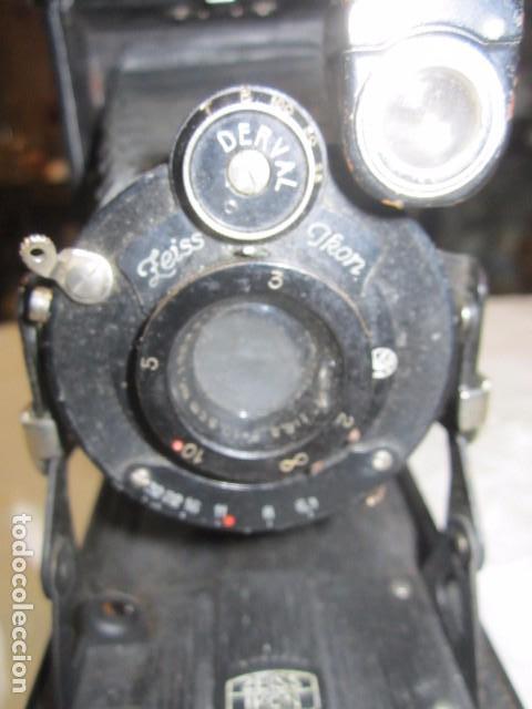 Cámara de fotos: Antigua cámara de fotos Zeiss Ikon, de fuelle. - Foto 4 - 62829828