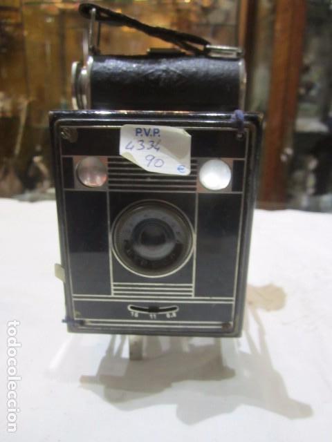 ANTIGUA CÁMARA DE FOTOS AGFA, CON FUELLE. (Cámaras Fotográficas - Antiguas (hasta 1950))