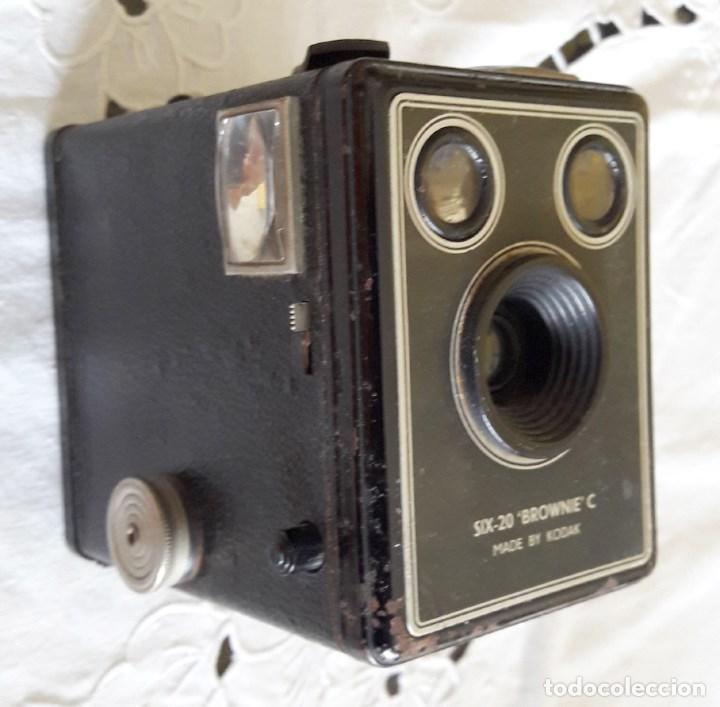 Cámara de fotos: Cámara Kodak Six-20 Brownie C - Foto 3 - 63260196