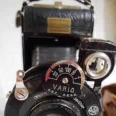 Cámara de fotos: ANTIGUA CAMARA DE FOTOS ORIGINAL GAUTHIER CON ESTUCHE DE PIEL. Lote 65970278