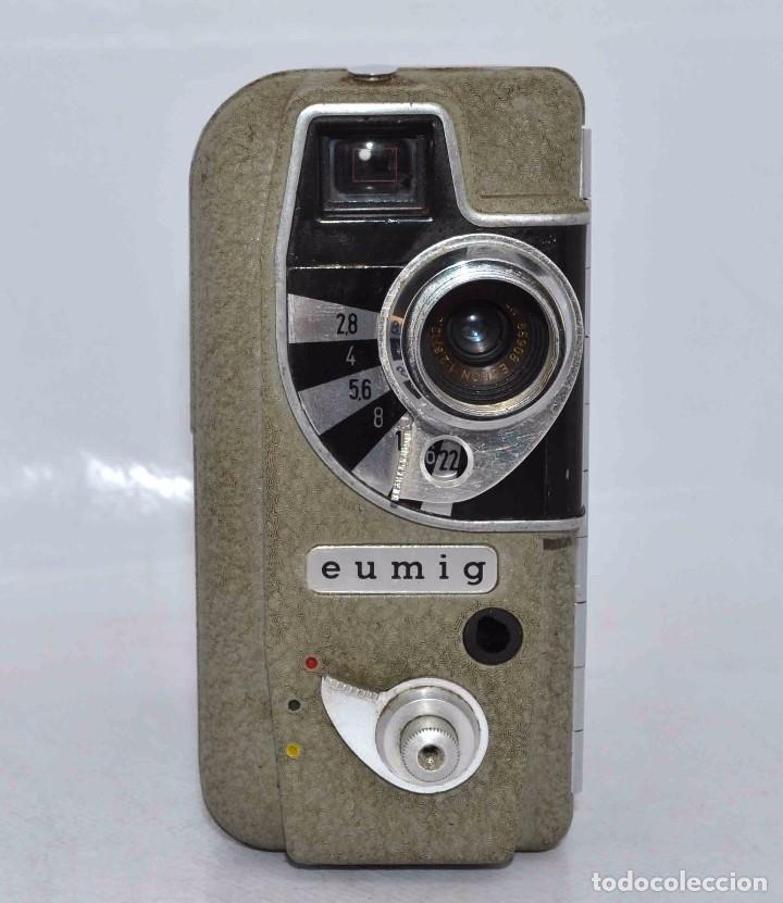 Cámara de fotos: BONITA Y RARA CAMARA DE CINE A PILAS..EUMIG ELECTRIC..AUSTRIA 1955..MUY BUEN ESTADO..FUNCIONA - Foto 7 - 66130266