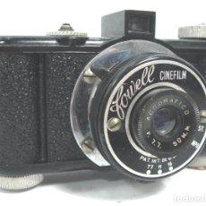 Cámara de fotos: ANTIGUA CAMARA BAQUELITA - FOWELL CINEFILM ACROMATIC - USA 1948-1958 ¡¡FUNCIONANDO¡¡¡. Lote 66161954