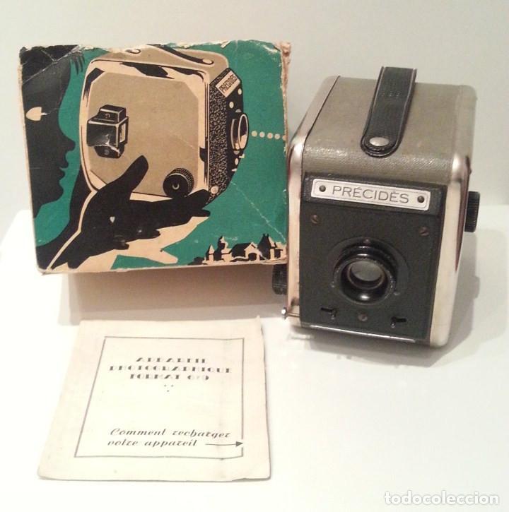 ANTIGUA Y RARA CÁMARA FRANCESA PRÉCIDÈS DE 1950. PRECIDES CAMERA FORMATO 6X9 (Cámaras Fotográficas - Antiguas (hasta 1950))