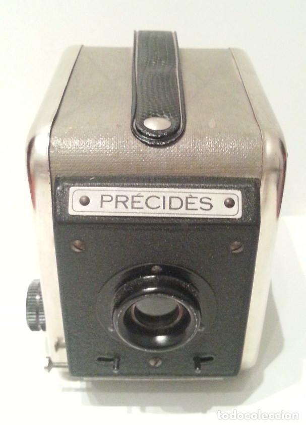 Cámara de fotos: ANTIGUA Y RARA CÁMARA FRANCESA PRÉCIDÈS DE 1950. PRECIDES CAMERA FORMATO 6X9 - Foto 9 - 67043546