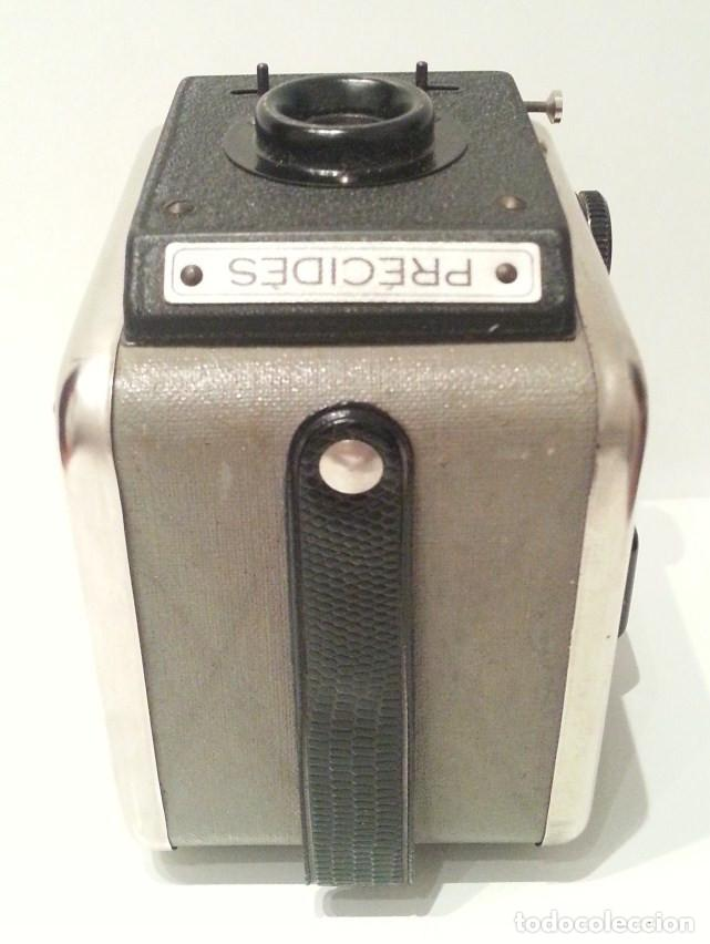 Cámara de fotos: ANTIGUA Y RARA CÁMARA FRANCESA PRÉCIDÈS DE 1950. PRECIDES CAMERA FORMATO 6X9 - Foto 13 - 67043546
