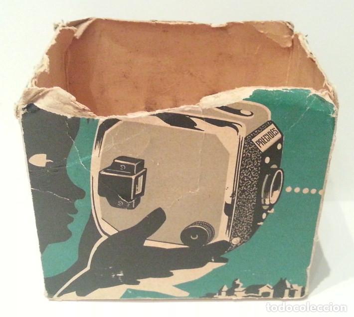 Cámara de fotos: ANTIGUA Y RARA CÁMARA FRANCESA PRÉCIDÈS DE 1950. PRECIDES CAMERA FORMATO 6X9 - Foto 19 - 67043546
