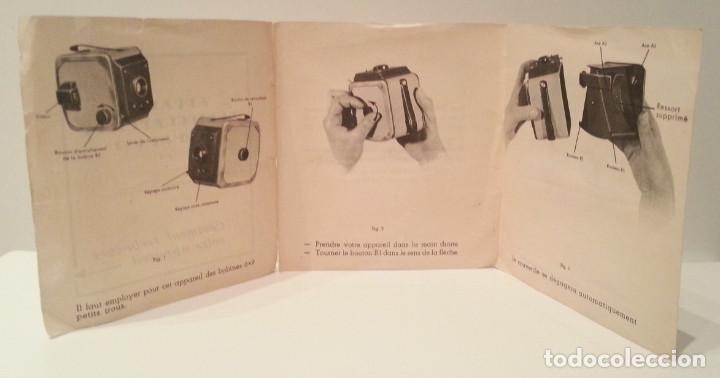 Cámara de fotos: ANTIGUA Y RARA CÁMARA FRANCESA PRÉCIDÈS DE 1950. PRECIDES CAMERA FORMATO 6X9 - Foto 25 - 67043546