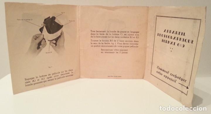 Cámara de fotos: ANTIGUA Y RARA CÁMARA FRANCESA PRÉCIDÈS DE 1950. PRECIDES CAMERA FORMATO 6X9 - Foto 26 - 67043546