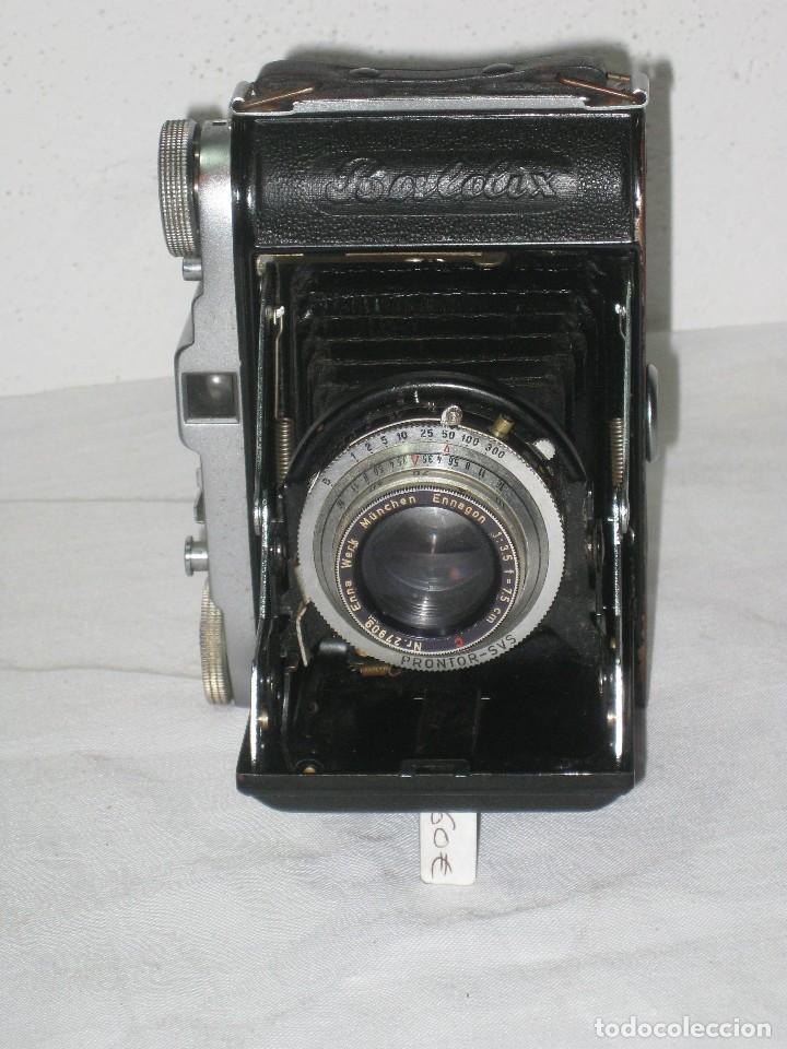 Cámara de fotos: Cámara de fuelle antigua (Balda) - Foto 3 - 67434821