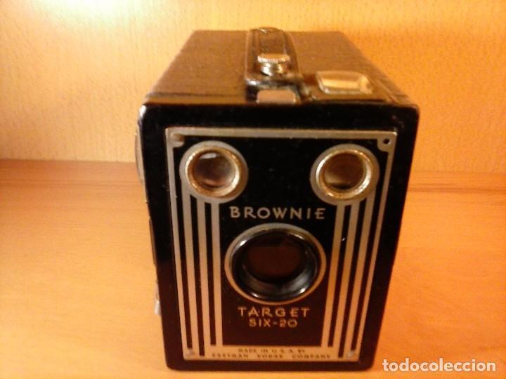 Cámara de fotos: CÁMARA FOTOGRÁFICA KODAK BROWNIE TARGET SIX-20 - Foto 7 - 68431797
