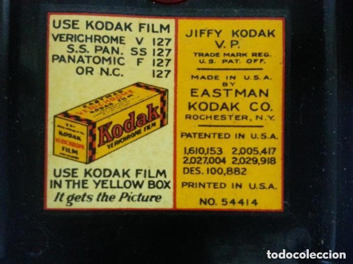 Cámara de fotos: Cámara de fuelle Kodak JIFFY Vest Pocket - Baquelita - Excelente estado - Funcionando - Foto 10 - 74080663