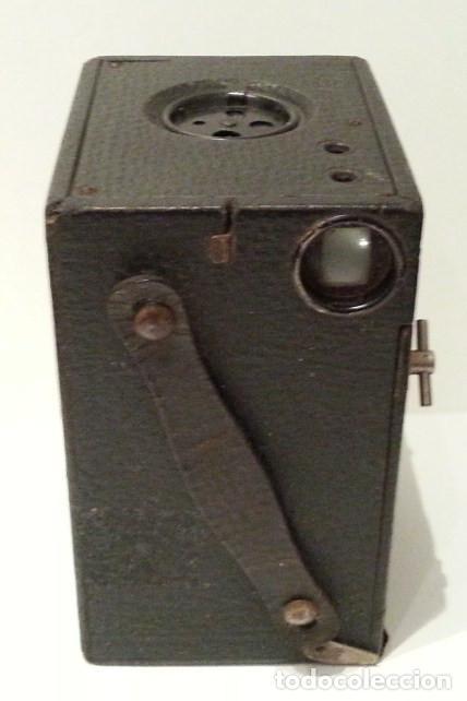 Cámara de fotos: PRECIOSA CONLEY KEWPIE Nº2 1917. PELÍCULA 120. MADERA Y CARGA LATERAL. DISCO ROTATIVO FRONTAL - Foto 8 - 75081171