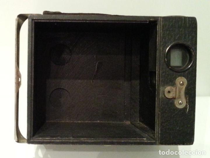Cámara de fotos: PRECIOSA CONLEY KEWPIE Nº2 1917. PELÍCULA 120. MADERA Y CARGA LATERAL. DISCO ROTATIVO FRONTAL - Foto 13 - 75081171