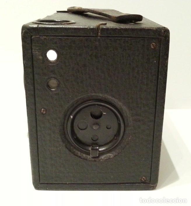 Cámara de fotos: PRECIOSA CONLEY KEWPIE Nº2 1917. PELÍCULA 120. MADERA Y CARGA LATERAL. DISCO ROTATIVO FRONTAL - Foto 16 - 75081171