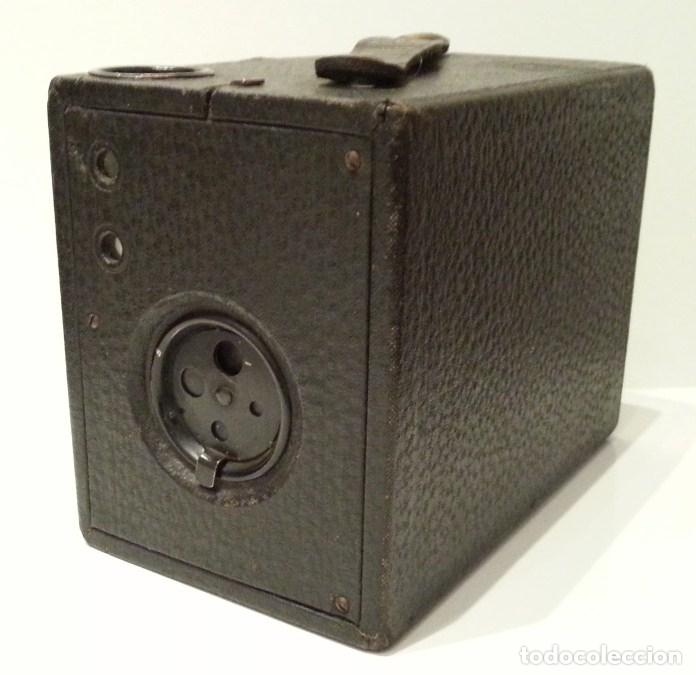 Cámara de fotos: PRECIOSA CONLEY KEWPIE Nº2 1917. PELÍCULA 120. MADERA Y CARGA LATERAL. DISCO ROTATIVO FRONTAL - Foto 17 - 75081171