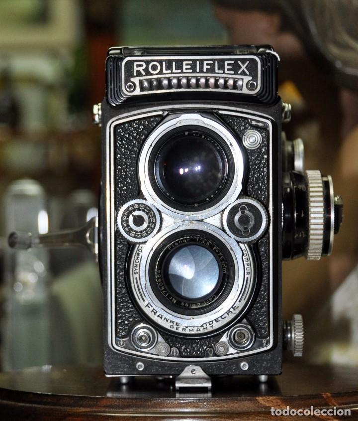 Antigua camara de fotos alemana rolleiflex 3 5 comprar - Camaras fotos antiguas ...