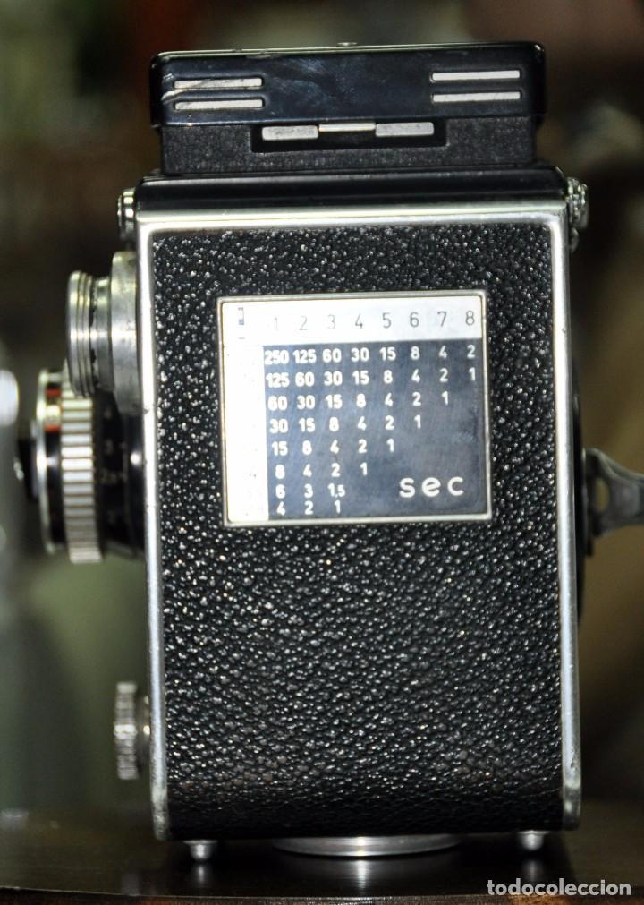 Cámara de fotos: antigua camara de fotos alemana rolleiflex 3,5 - Foto 4 - 77371825