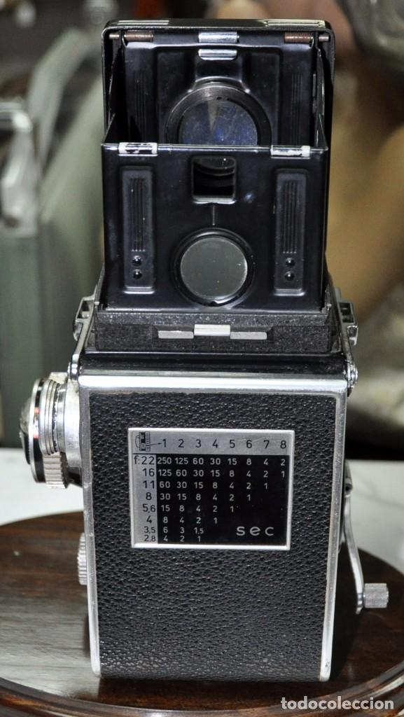 Cámara de fotos: antigua camara de fotos alemana rolleiflex 3,5 - Foto 6 - 77371825