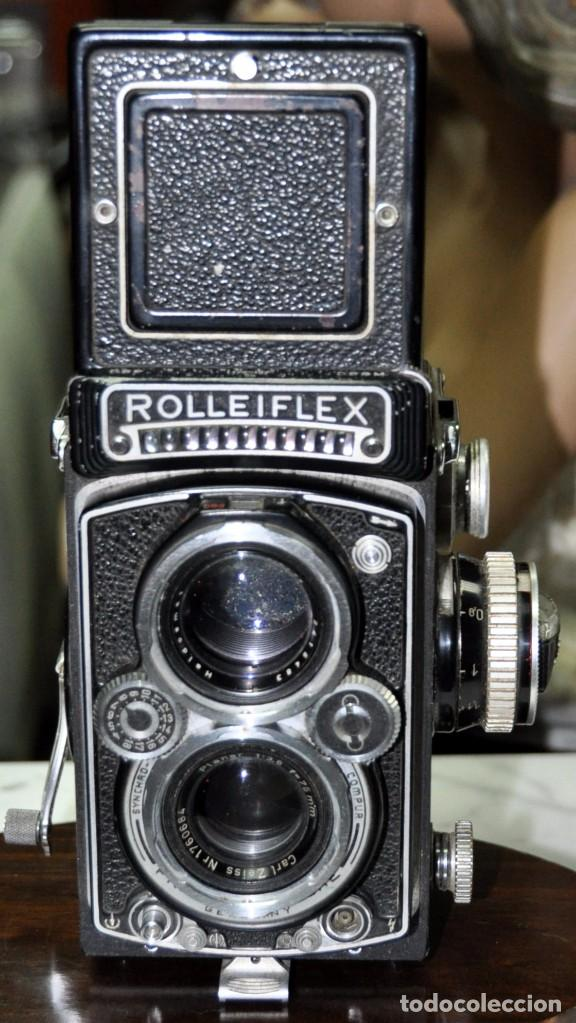Cámara de fotos: antigua camara de fotos alemana rolleiflex 3,5 - Foto 7 - 77371825