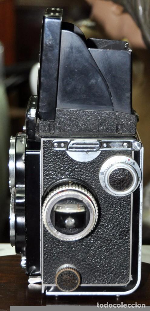 Cámara de fotos: antigua camara de fotos alemana rolleiflex 3,5 - Foto 8 - 77371825