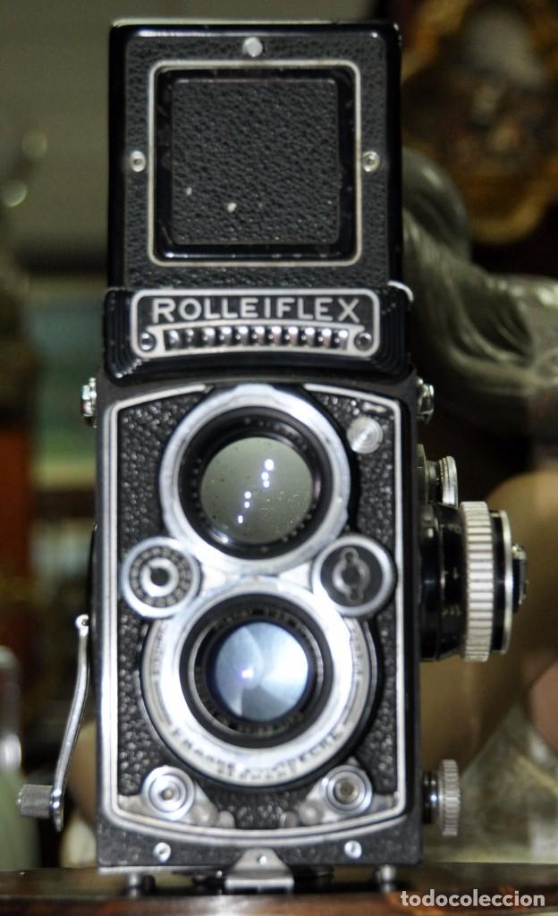 Cámara de fotos: antigua camara de fotos alemana rolleiflex 3,5 - Foto 11 - 77371825