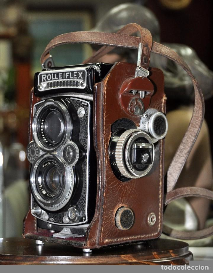 Cámara de fotos: antigua camara de fotos alemana rolleiflex 3,5 - Foto 12 - 77371825