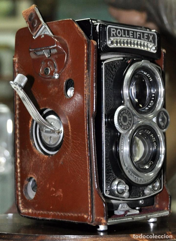 Cámara de fotos: antigua camara de fotos alemana rolleiflex 3,5 - Foto 13 - 77371825
