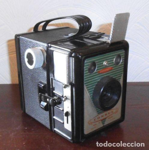 Cámara de fotos: ANTIGUA CAMARA CORONET CONSUL FABRICADA EN LOS AÑOS 40 / 50 EN INGLATERRA - Foto 2 - 77579113