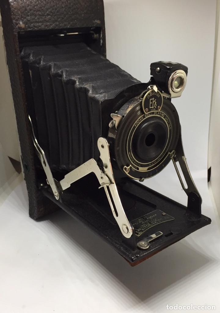 ANTIGUA CAMARA FOTOGRAFICA - KODAK POCKET Nº 1A - SERIES II - CON SU FUNDA ORIGINAL - EN BUEN ESTADO (Cámaras Fotográficas - Antiguas (hasta 1950))