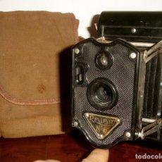 Cámara de fotos: CAMARA DE FOTOS RAJAR Nª 6 ANTIGUA BAQUELITA 1930. Lote 79876389