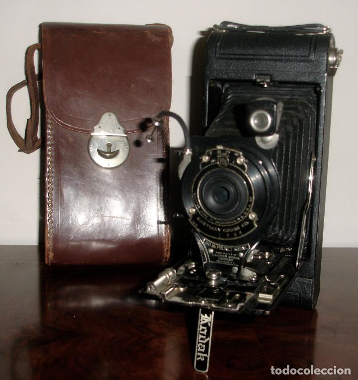 CAMARA DE FOTOS KODAK Nº 116 ANTIGUA (Cámaras Fotográficas - Antiguas (hasta 1950))