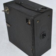 Cámara de fotos: CAMARA DE CAJON, MADERA..INGLATERRA 1930..HOUGHTON BUTCHER ENSIGN BOX E-29.MUY BUEN ESTADO..FUNCIONA. Lote 82026644